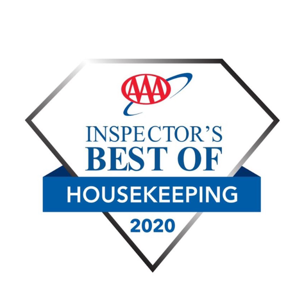 AAA Inspector's Best Housekeeping Hotel for 2020